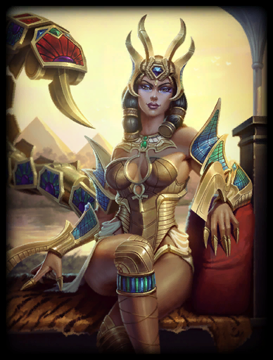 Desert Queen Skin card