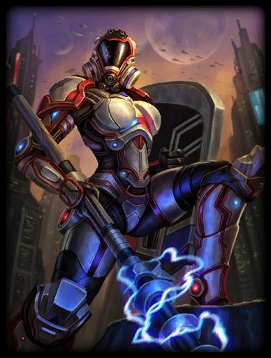 Enforcer Skin card