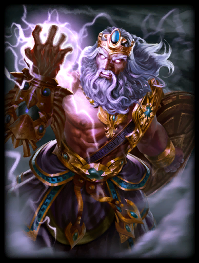 Wrath of Olympus Skin card