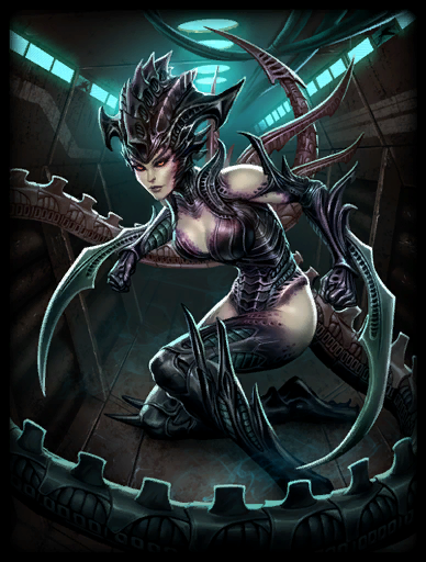 Dread Queen Skin card