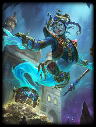 The Elder Djinn Skin card