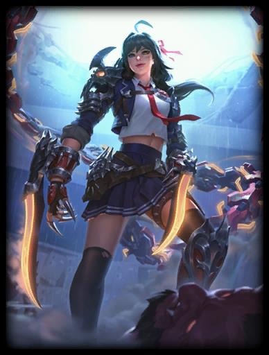 Senpai Slayer Skin card