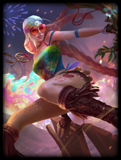 Peace Out Skin card