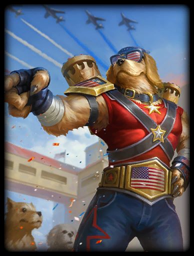 Freedom Retriever Skin card