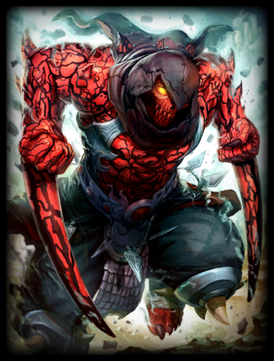 Rage Skin card