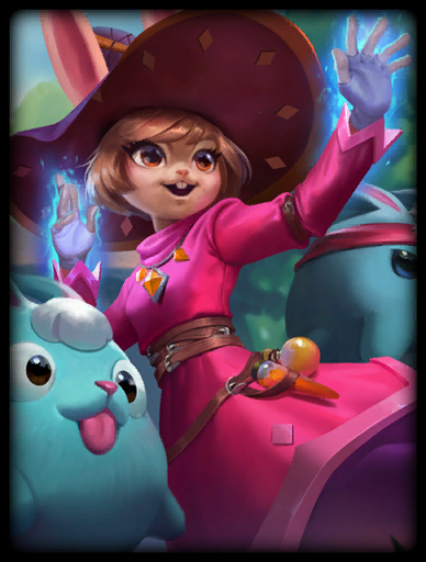 Bewitching Bunny Skin card