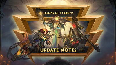 8.3 - Talons of Tyranny Update