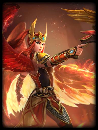 Phoenix Fire Skin card