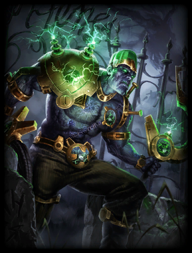 The Re-Animated Skin card