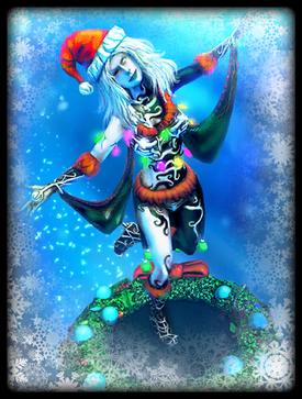 Jingle Hel skin card