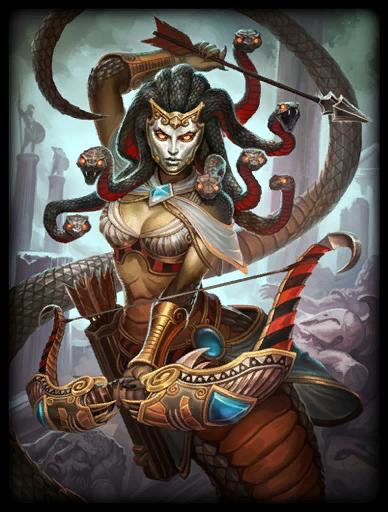 Black Gorgon Skin card