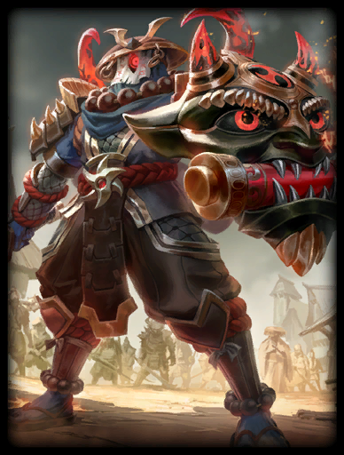 Oni Guardian Skin card