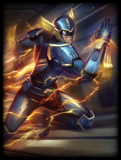 Captain Quick Skin card