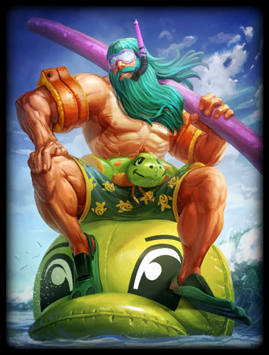 Poolseidon Skin card