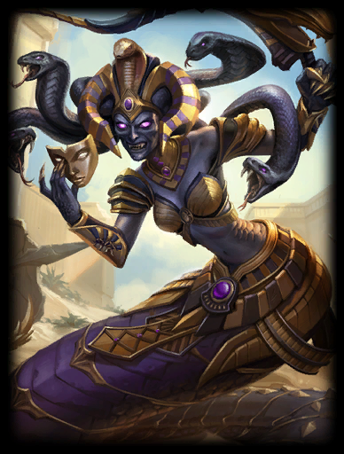 Queen Cobra Skin card