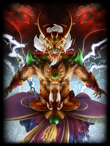 Dragon King Skin card