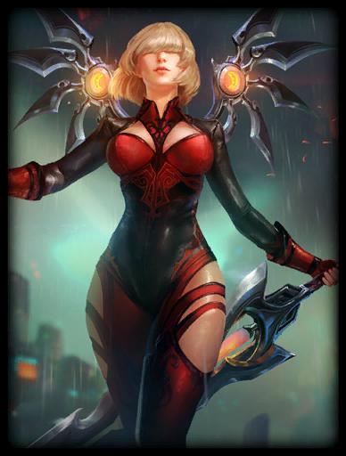 Scarlet Judgement Skin card