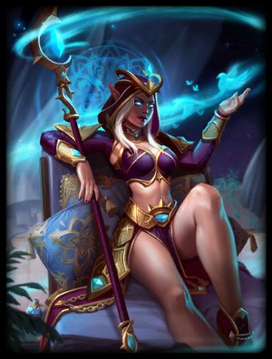 Violet Sorceress Skin card