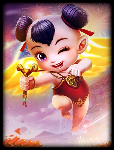 Lucky Baby Fuwa Skin card