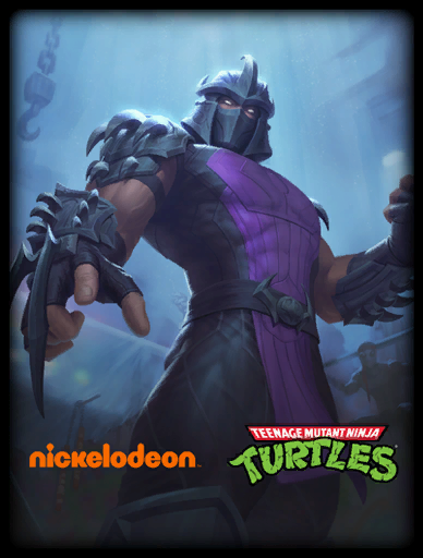 Shredder Skin card