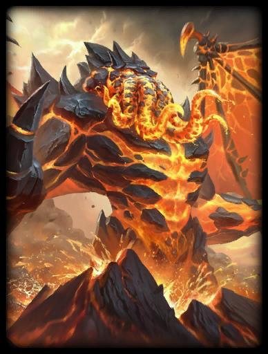 Molten Destroyer Skin card