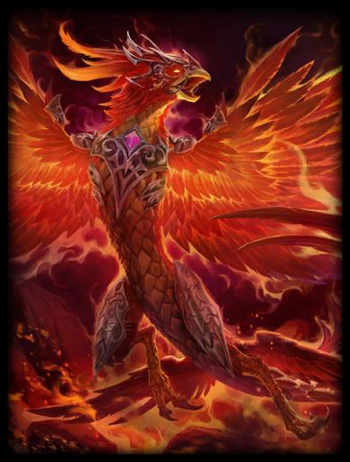 Phoenix Fury Skin card