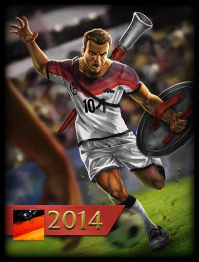 Weltmeister 2014 Skin card