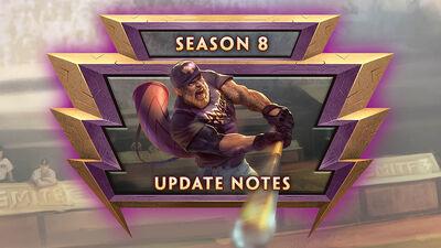 8.1 Bonus - Season 8 Bonus Update