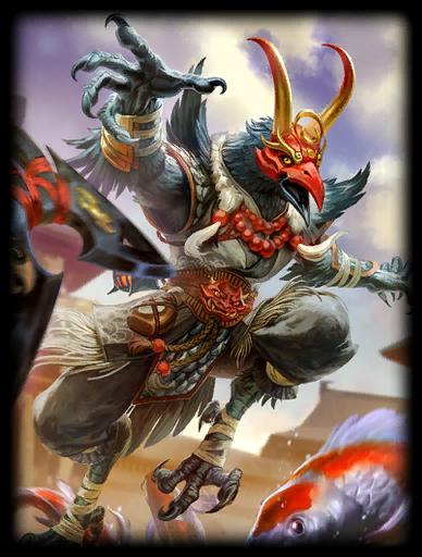 Great Tengu Skin card