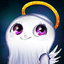 Cutesy Cupid Ghost Avatar