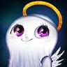 Cutesy Cupid Ghost Avatar
