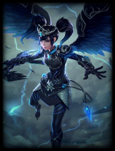 Storm Raven Skin card
