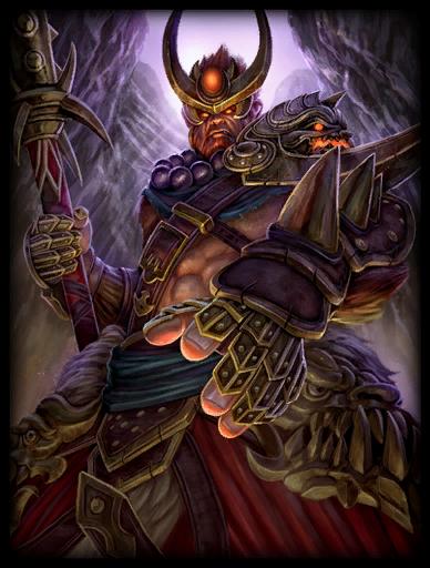 Heavenly Warlord Skin card