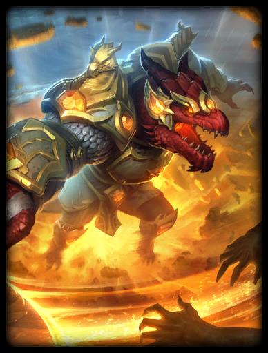 Dragon's Light Skin card