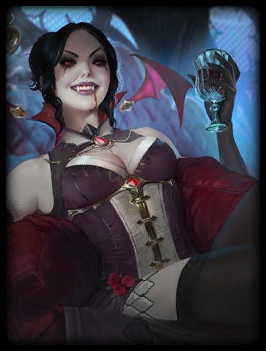 Vampiress Skin card