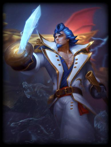 Admiral Skin card