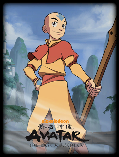 Aang Skin card