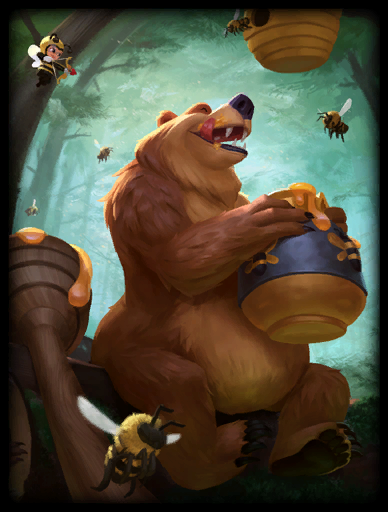 Bearly Buzzed Skin card