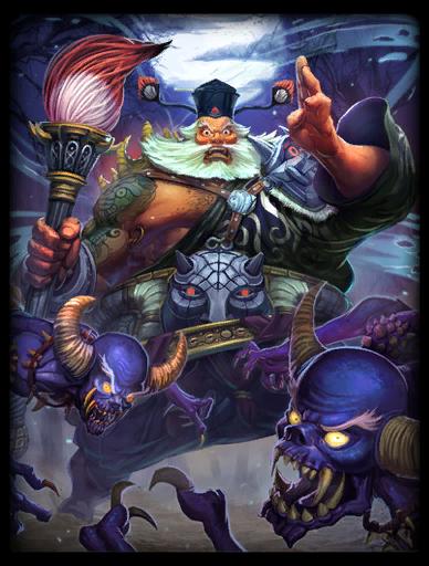 King of Ghosts Skin card