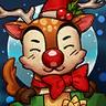 Winter Reindeer Avatar
