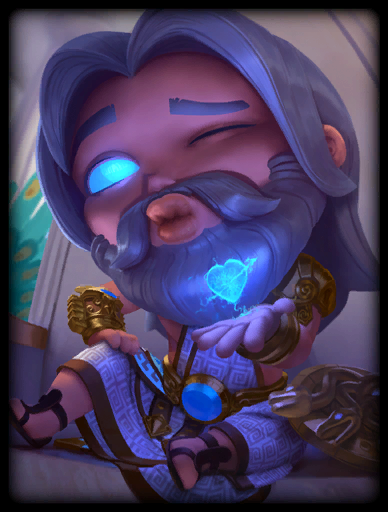 Zappy Chibi Skin card