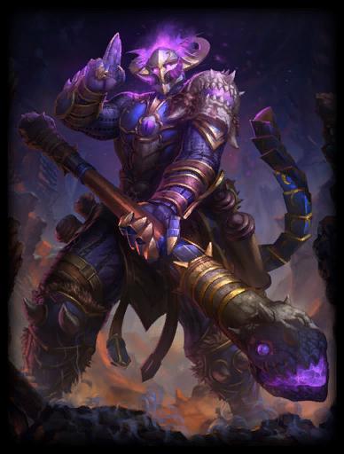 Abyssal Warrior Skin card