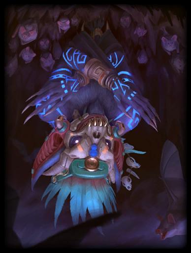 Xibalba's Shadow Skin card