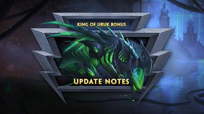 8.4 Bonus - King of Uruk Bonus Update