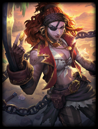 First Mate Skin card