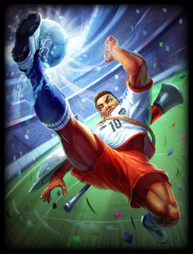 Jaguar Footballer Skin card