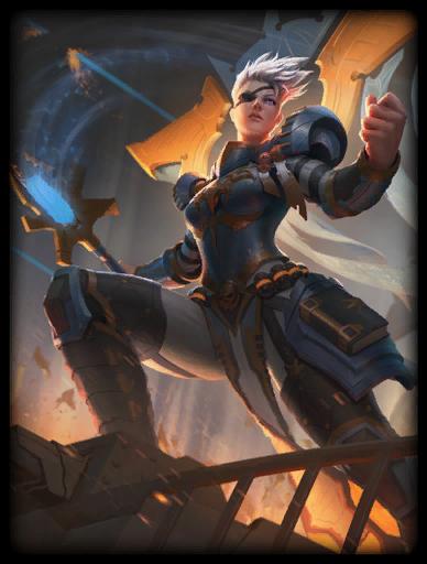 Iron Conqueror Skin card
