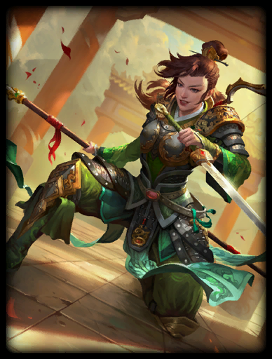 Rising Hero Skin card