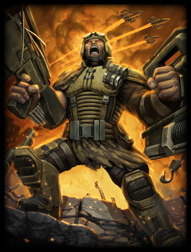 Soldier of Fortune Skin card
