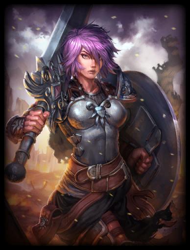 Battle Maiden Skin card